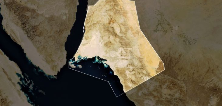 Location NEOM Saudi Arabia Red Sea